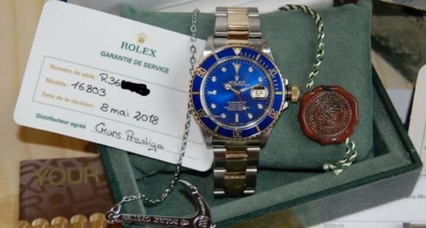 f1342e45d2e Homem é preso com relógio Rolex avaliado em R  43 mil em MT    FolhaMT
